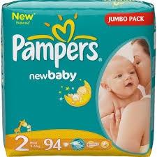 9835a3d45201 Підгузники дитячі PAMPERS New baby-dry Mini 2 (3-6кг.) 94шт.